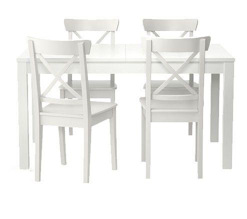 Okazja! Stół rozkładany 140/220 i 6 krzeseł Ikea ingolf