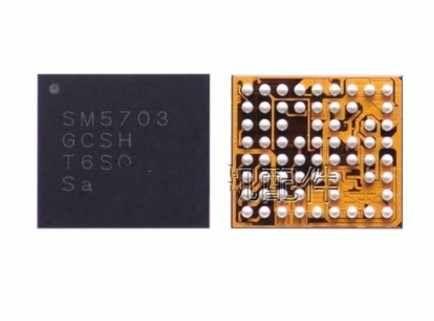 Sm5703a original para samsung a8 j5 j6 j6p j7 carregador ic a8000 j700