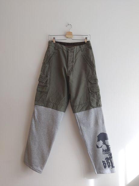 Spodnie cargo vintage pants ByBenLivermore BBL 28,S