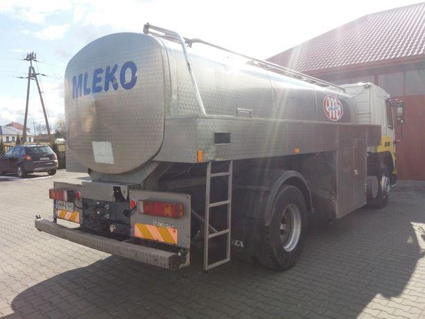 Cysterna na mleko Volvo FM 7 beczka