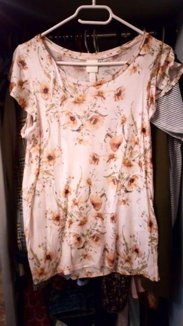 Bluzka w kwiaty H&m s