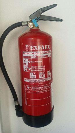 Extintor de Pó Químico 6kg como novo