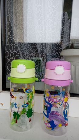 детская поилка поильник бутылочка для воды 400мл/500 мл