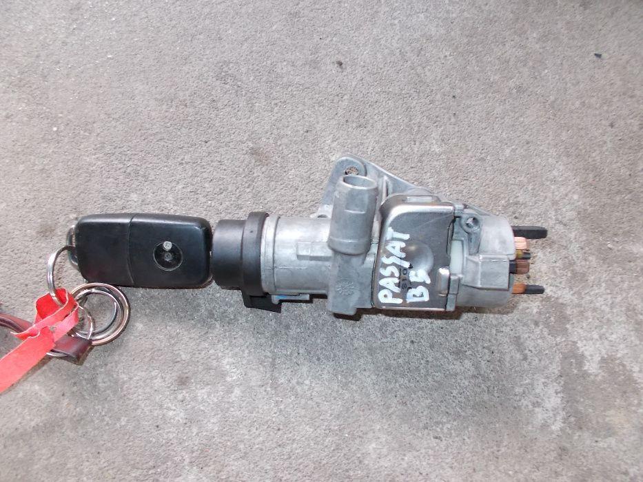 stacyjka z kluczykiem VW PASSAT B5 lifting 2.5 TDI Leszno - image 1
