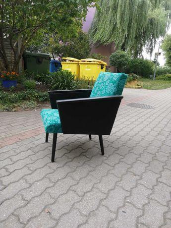 Fotel PRL patyczak vintage retro loft
