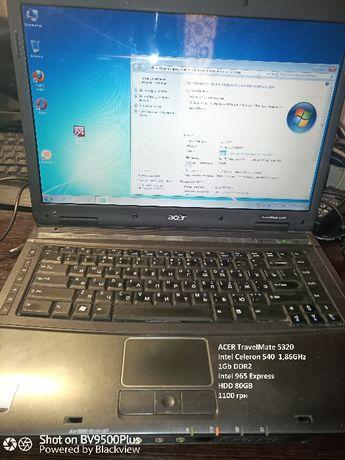 Дешевий ноутбук Acer 5320
