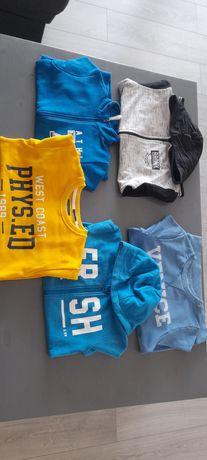 Bluzy chłopięce rozmiar 140-162