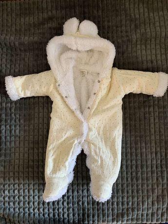 детский зимний комбинезон 56 см