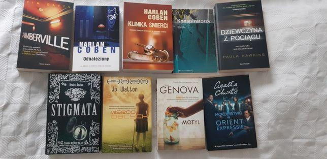 Sprzedam książki 9szt/całość - bestsellery (kryminał/thiller/psych.)