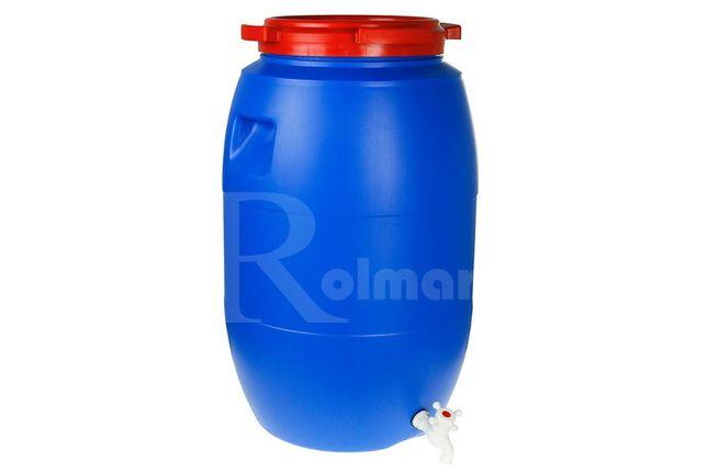 Zestaw do fermentacji BECZKA z kranem 60L +GRATISY