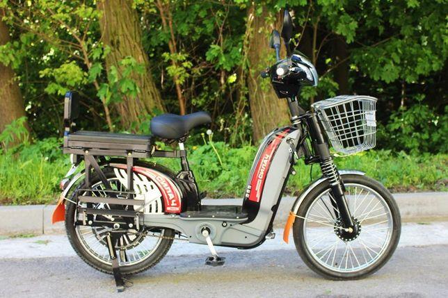 Електровелосипед електромопед електроскутер Силач