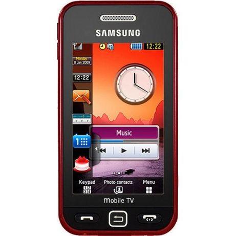Черный телефон samsung gt-s5233t