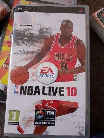 NBA live 10 psp EA