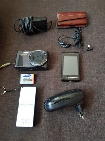 Sprzęt RTV Aparat Samsung smartphone Sony ładowarka baterii słuchawki