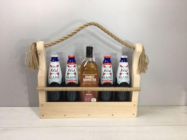 Подарунковий ящик для пива, кон'яку чи віскі