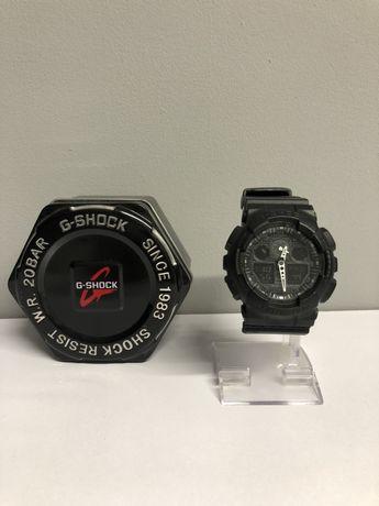 Męski zegarek Casio G Shock ga100 białe indeksy ORYGINAŁ
