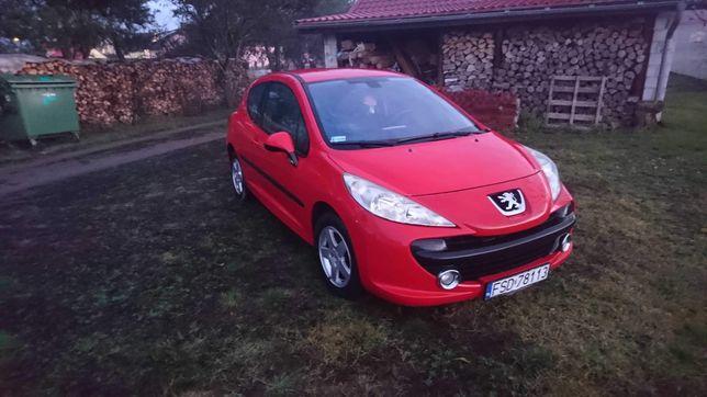 2008 Peugeot 207 1.4 benzyna zamienię na wiekszego