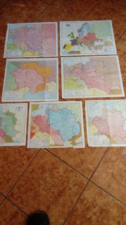 Witam sprzedam mapy widoczne na zdjęciu