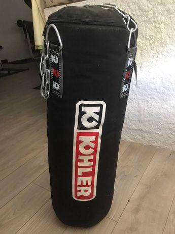 Saco de boxe / Muay Thai da marca Kohler - sem uso