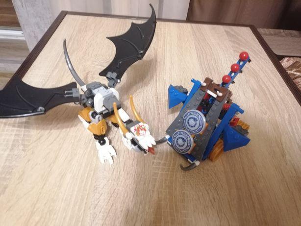 Лего игровой набор ninja Дракон и катапульта