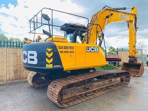Гусеничный экскаватор JCB JS220LC (2014 г.в.)