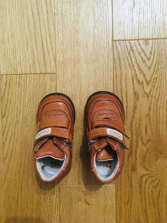 Nowe buty dziecięce skórzane. Rozmiar 20. Wkładka wew. 12,5 cm