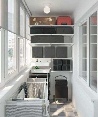 Балконы под ключ, рама на балкон, французкий балкон, окна в пол
