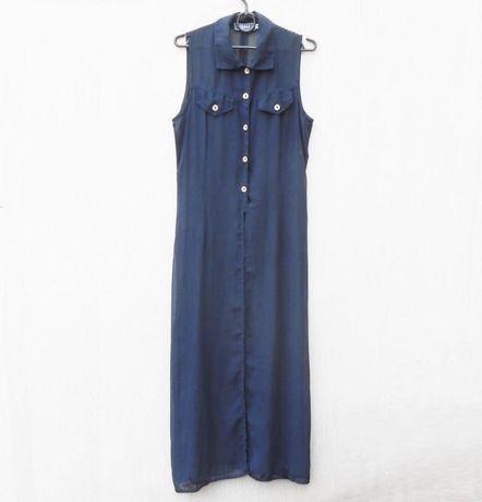 Платье летнее шифоновое в пол