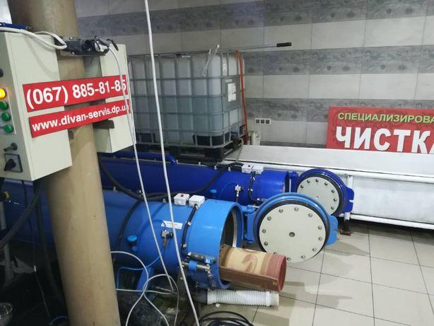 Чистка и Стирка КОВРОВ на Фабрике . Дезинфекция Озоном