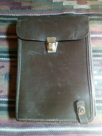 Військовий шкіряний планшет сумка СССР