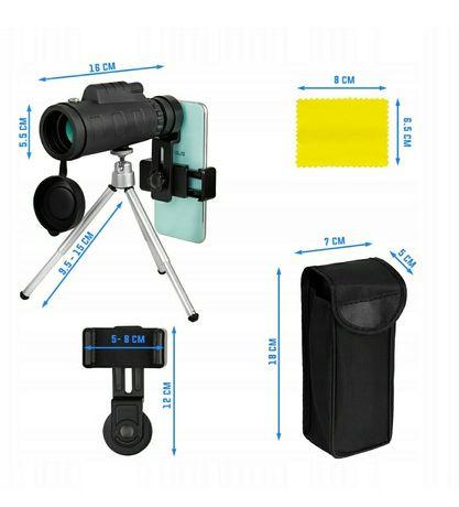 obiektyw teleskop luneta do telefonu, Nowy