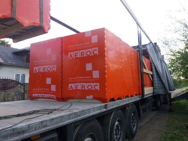 Газоблоки Aeroc, Стоунлайт, Піноблоки, Газобетонні блоки