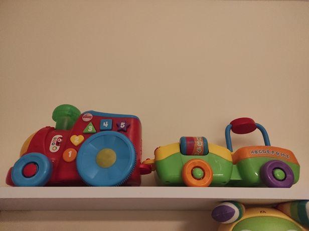 Brinquedo fisher price comboio