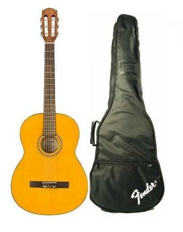 Gitara klasyczna Fender ESC 80 3/4 - pakiet na start