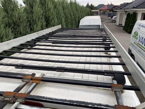 Bagażnik dachowy jumper boxer ducato aluminiowy