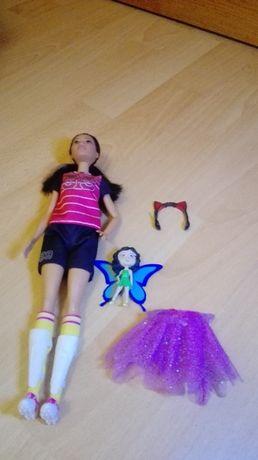 Zestaw Barbie piłkarska