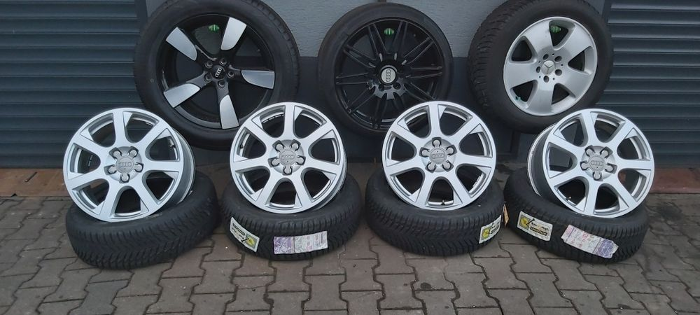 "Felgi Aluminiowe 5x112 17"" Audi skoda vw seat Kozy - image 1"