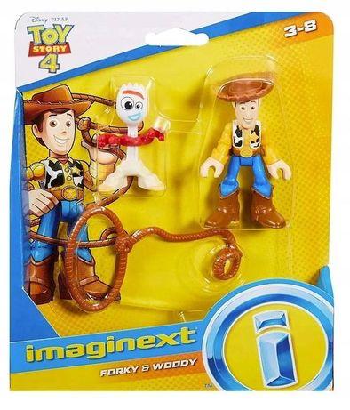 Toy Story 4 Figurki Chudy I Forky Hoody Gbg90