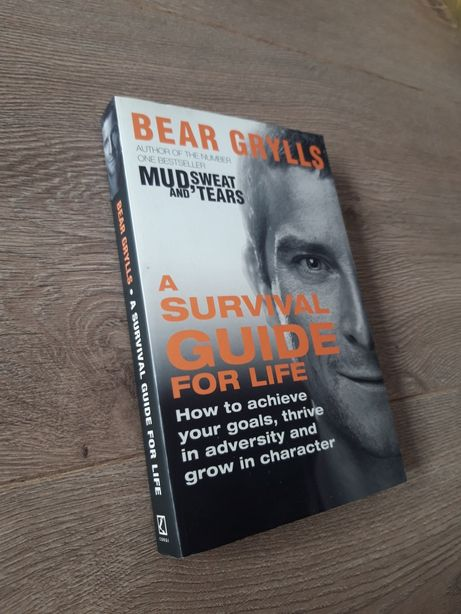 NOWA! A Survival Guide for Life - Bear Grylls - paperback 20cm na 13cm