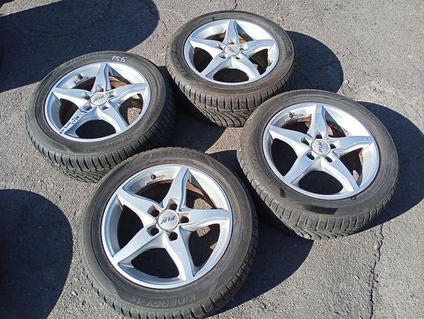 Литі диски колеса 205/55 r16 5/112 7j et38 шкода ауді фольскваген мерс