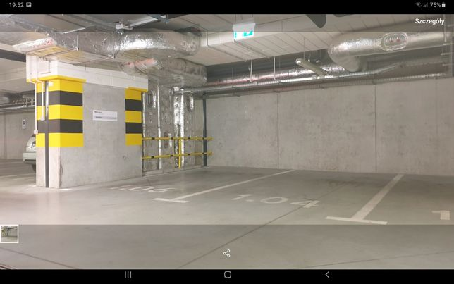 Miejsce parkingowe w garażu podziemnym Wolska 165