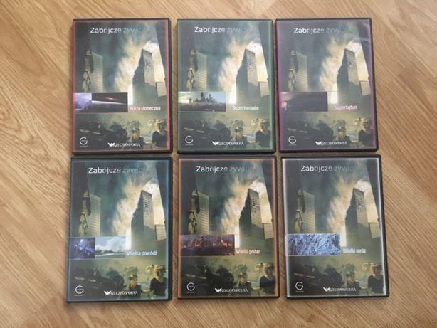 Kolekcja DVD Rzeczpospolitej - Zabójcze żywioły 6 płyt