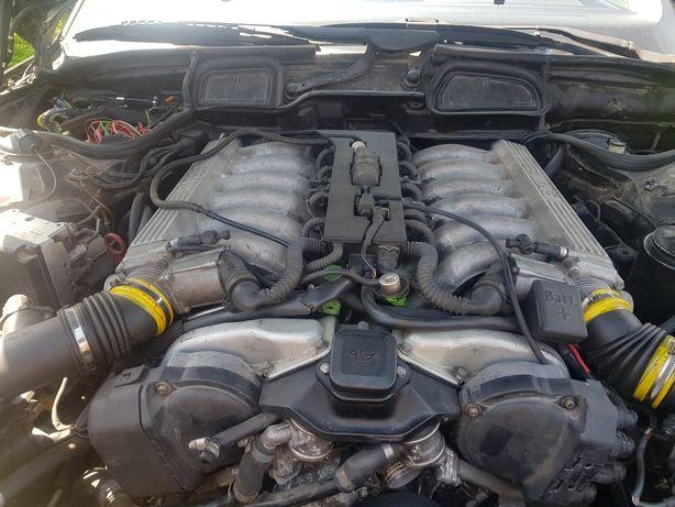 Silnik  BMW E38 5.4-V12-Swap E30 + wiązka- komputery