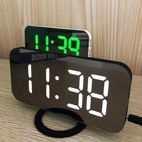 Уценка! Настольные электронные часы Led,електронний годинник.
