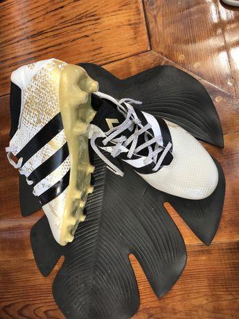 Chuteiras Adidas 16.3 tam 8 1/2 quase novas