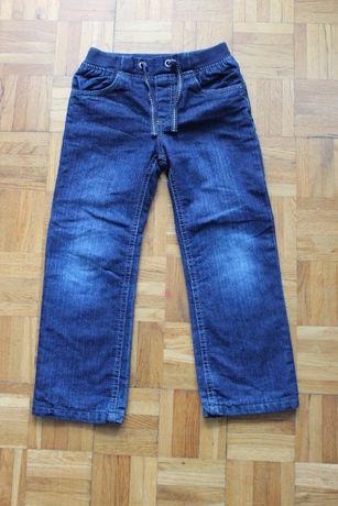 NOWE dżinsy / jeansy spodnie Lupilu chłopięce / dla chłopca rozm 110