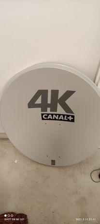 Antena satelitarna+konwerter+elementy montazowe
