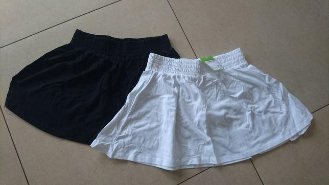 Dwie nowe spódniczki w rozmiarze 140 zC&A