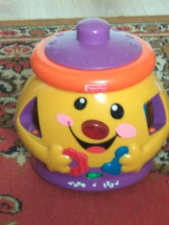Интерактивная обучающая игрушка горшок сортер Fisher Price