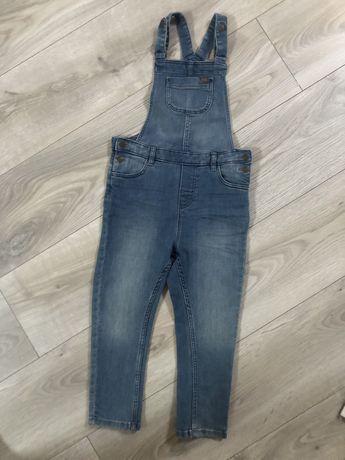 Jenas spodnie ogrodniczki h&m 104